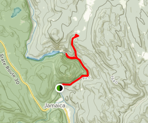 Hamilton Falls Trail Map