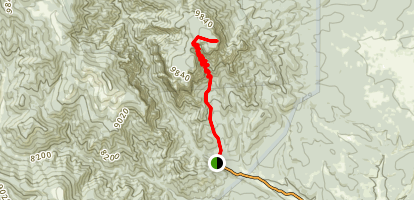 Hermit Peak Trail Map