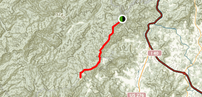 Cataloochee Divide Trail Map