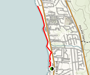 Kamaole Beaches 1, 2 and 3 Map