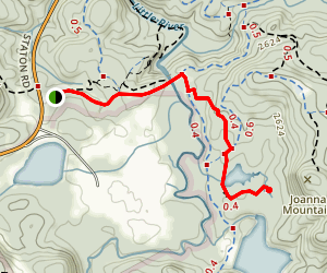 Lake Dense Trail Map