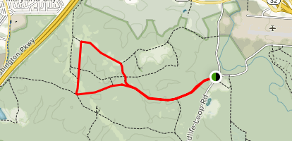 Patuxent Research Refuge, North Tract Map