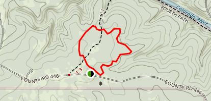 Cedar Chopper Loop Trail Map