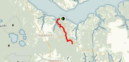 Neusiok Trail Map