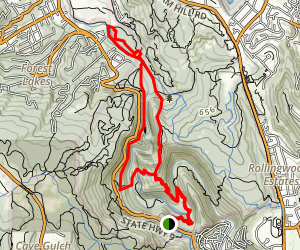 Big Rock Hole Trail Map