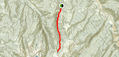 Turquoise Lakes Trail Map
