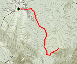 Burnt MountainTrail Map