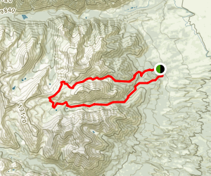 Browns Creek and Little Browns Creek Trail Map