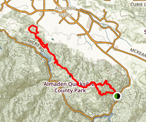 Mine Hill Trail Map