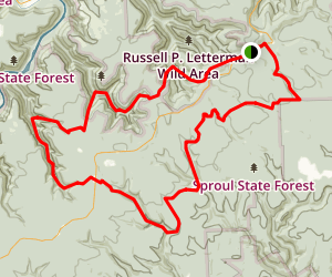 Chuck Keiper Trail Map
