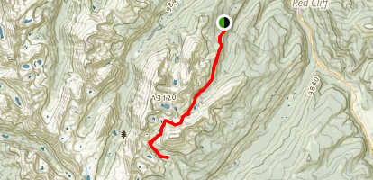 Fall Creek Pass Trail Map