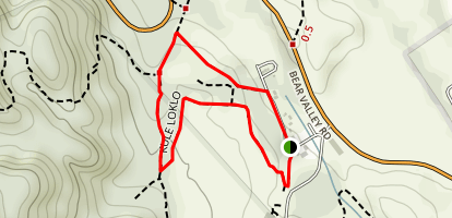 Kule Loklo Trail Map