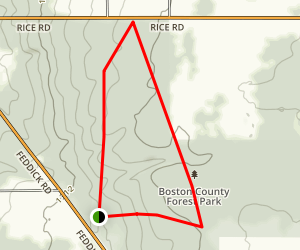 Boston Forest Trail Map