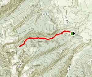 Stroud Lake Trail Map