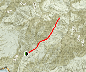 Little Elk Creek Trail Map
