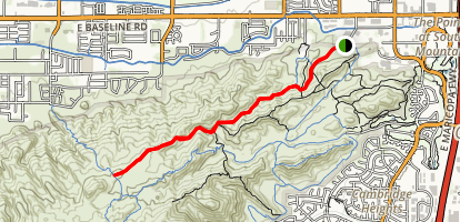 Javelina Trail Map