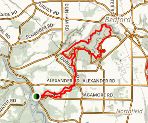 Bedford Reservation Trail Map