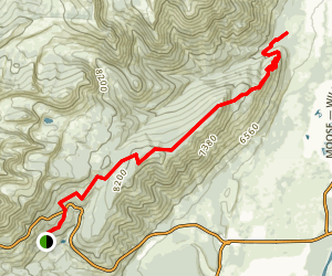 Phillips Ridge Trail Map