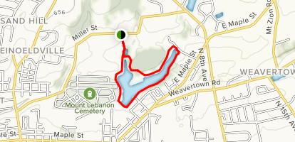Stoevers Main Trail  Map