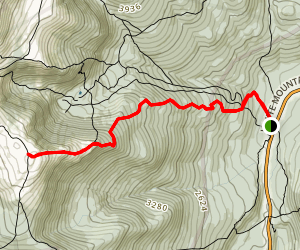 Boott Spur Trail Map
