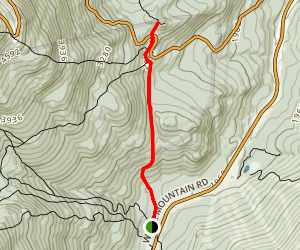 Lowe's Bald Spot Trail Map