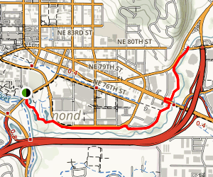 Bear Creek Trail Map