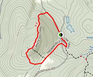 Uncanoonuc North Peak Trail Map