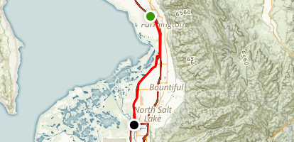 Legacy Parkway Trail Map