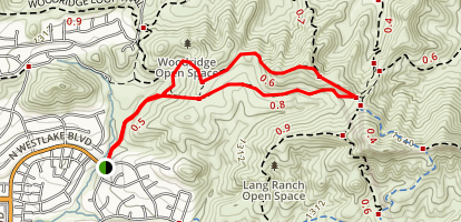 Autumn Ridge Trail Map