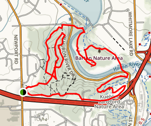 Bird Hills Trail Map