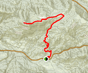 Wildhorse Canyon Sugarloaf Overnighter Trail Map