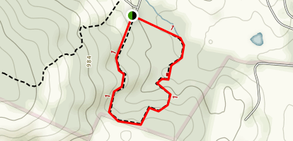 Snowden Interpretive Trail Map