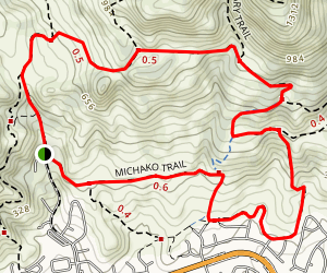 Michako Trail Map