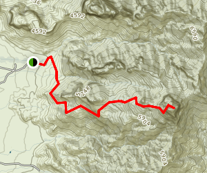 Baboquivari Peak via Summit Trail Map