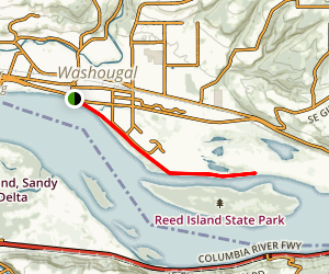 Lewis and Clark Discovery Greenway Trail Map