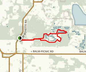 Balm Boyette Nature Preserve Trail Map