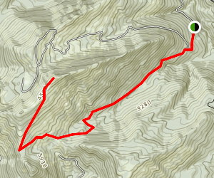 Road 1 Sno-Park Trail Map