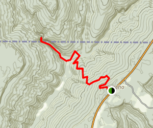 Walls of Jericho Trail Map