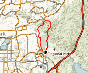 Great Egret Loop Trail Map