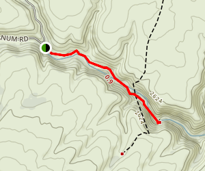 Umtanum Creek Falls Trail Map