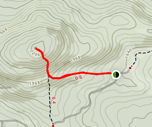 Mont Foster Trail [CLOSED] Map