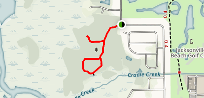 Cradle Creek Trail Map