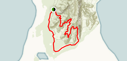 Stansbury Island Loop Map