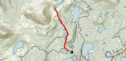 Clyde Lake Trail Map