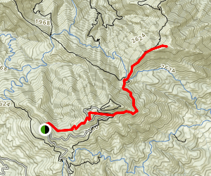 Mount Diablo North Peak Trail Map