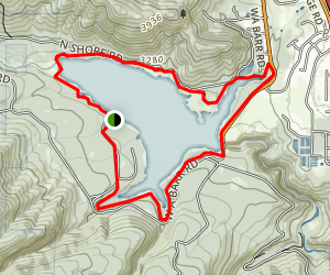 Lake Siskiyou Trail Map