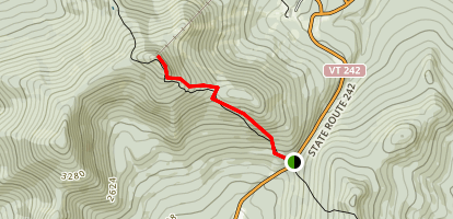 Jay Peak Trail Map