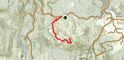 Mammoth Mountain Trail Map