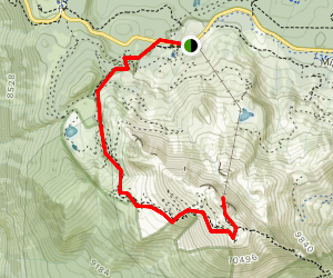 Mammoth Mountain Trail - California | AllTrails on mammoth sites in north america maps, mammoth california airport map, mammoth resort map, june mountain trail map,