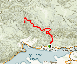 Delamar Mountain Trail Map